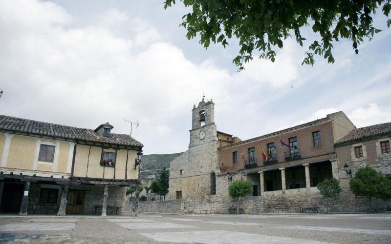 Plaza Mayor de Palenzuela